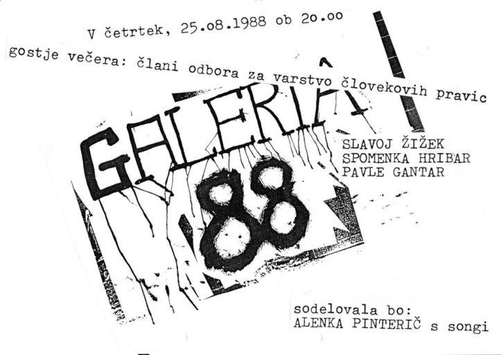 GALERIA 88 vabilo2