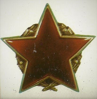 018 Order of the Partisan star with silver wreath