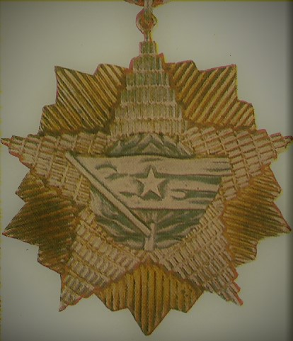 023 Order of the Yugoslav flag with a gold star
