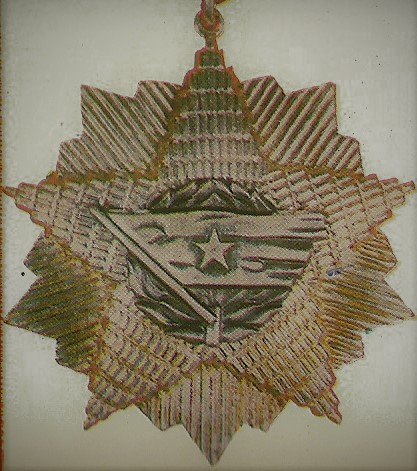 028 Order of the Yugoslav flag with a silver star