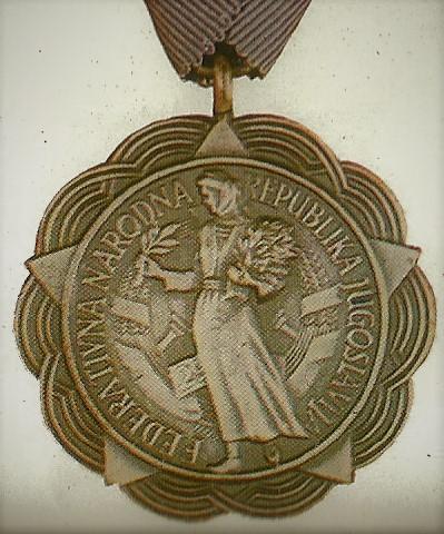 040 Medal for merit