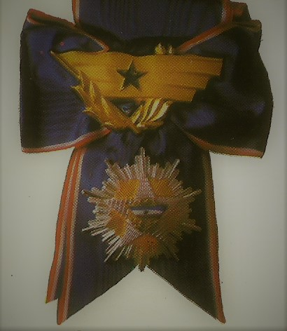 06 Order of the Yugoslav flag with a ribbon