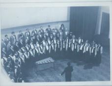 Renato Ribič kot zborovodja